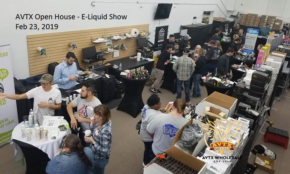 AVTX Wholesale Open House E-Liquid Show 2019