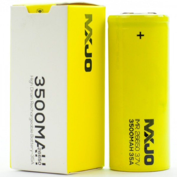MXJO 26650 3500 mah 35a Yellow