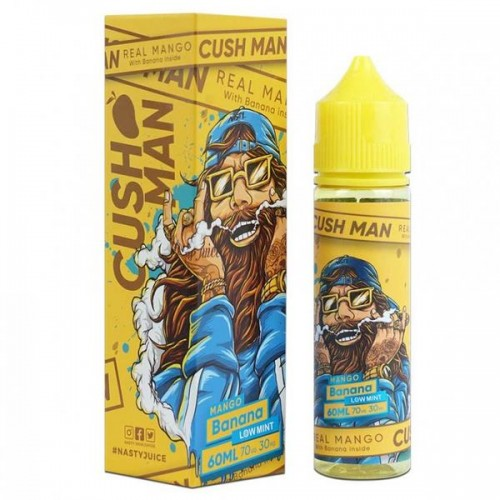 Cush Man by Nasty 60ml Mango Banana