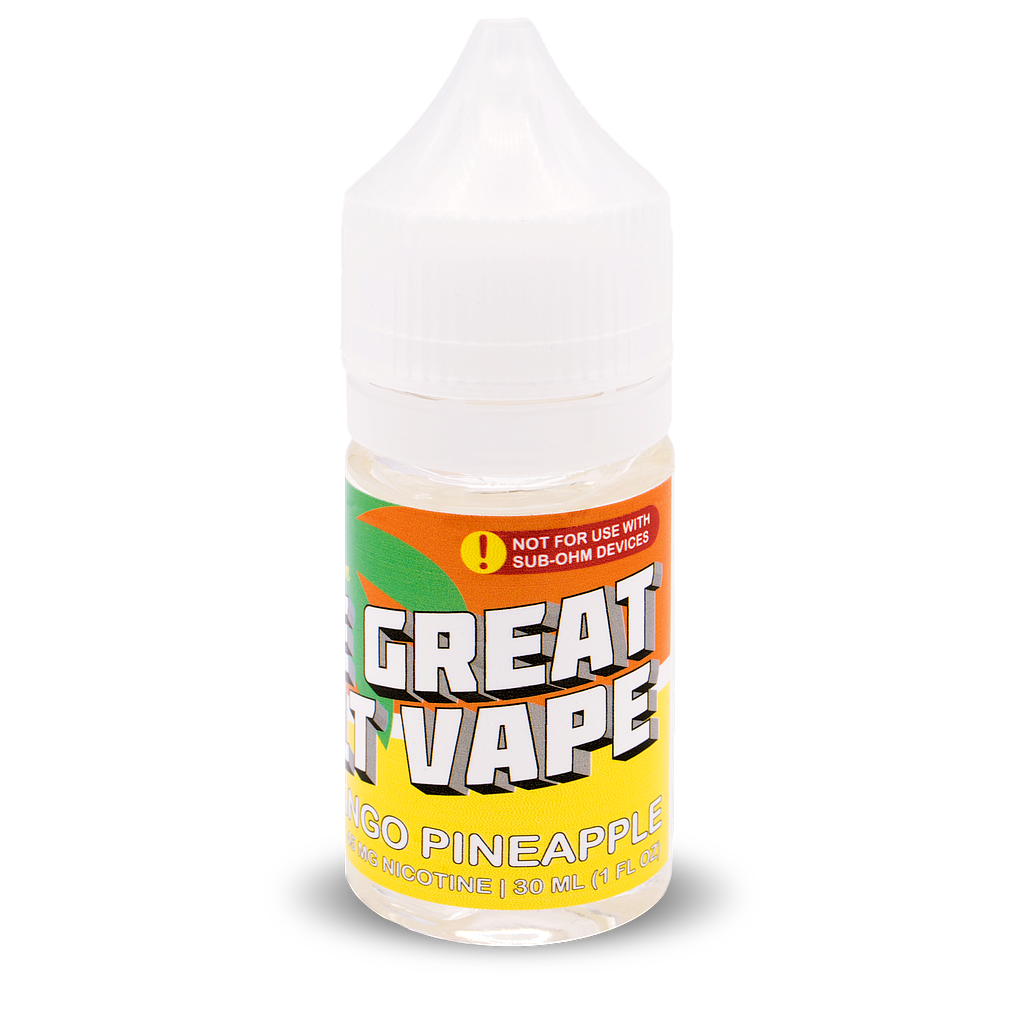 The Great Salt Vape 30ml Mango Pineapple