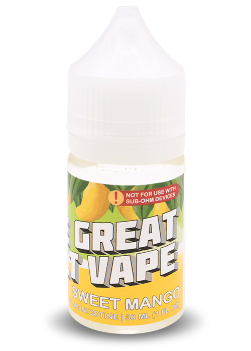 The Great Salt Vape 30ml Sweet Mango