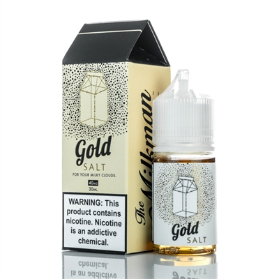 Milkman Salt 30ml Gold