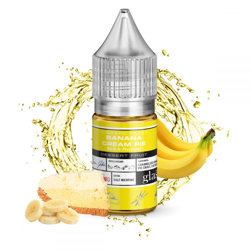 Glas Salt 30ml Banana Cream Pie
