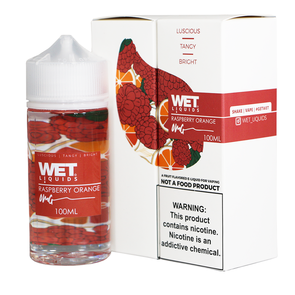 Wet 100ml Raspberry Orange