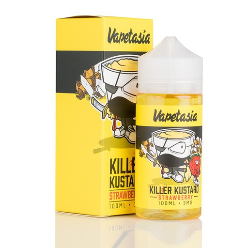 Vapetasia 100ml Killer Kustard Strawberry